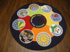134CMX134CM WEATHER  RUGS/MATS HOME/SCHOOL EDUCATIONAL NON SLIP BEST SELLER